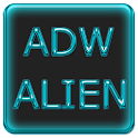 ADW Alien Abstract Aqua Theme icon