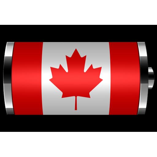 Canada : フラグバッテリウィジェット 個人化 App LOGO-硬是要APP