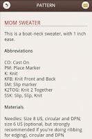 Screenshot of Raglanify: Knitting Sweater