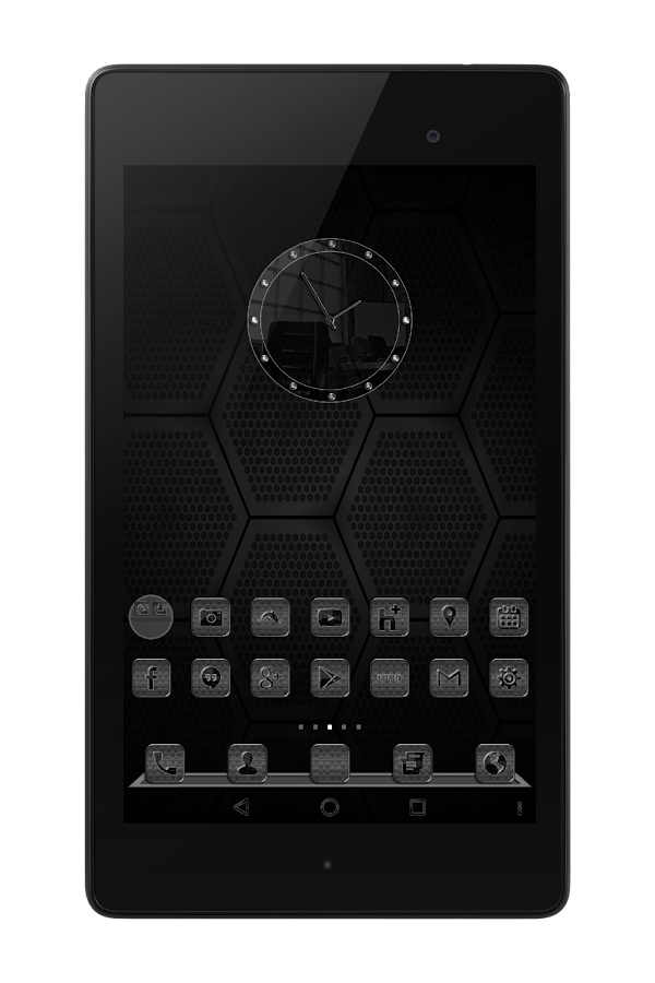Black Glass Icons Screenshot 8