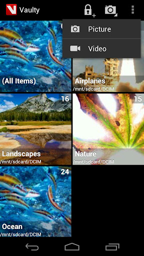 hide-pictures-in-vaulty for android screenshot
