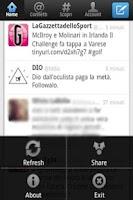 Screenshot of Twitter No Background
