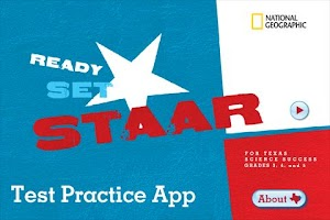 Screenshot of Ready Set STAAR Test Practice
