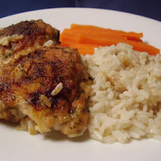 Mrs. Walker's Chicken and Rice Casserole from the 1960s