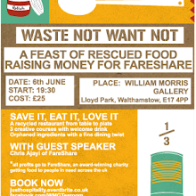 Waste Not Want Not Fundraiser for FareShare