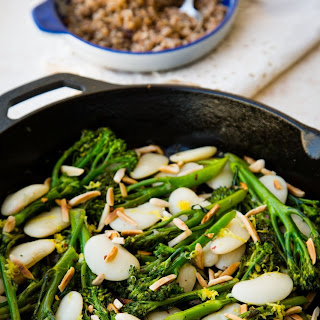 Broccolini with Butter Beans