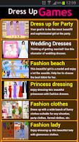 Screenshot of Dress up games