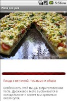 Screenshot of Pizza recipes