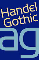 Screenshot of Handel Gothic FlipFont