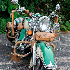 Indian Motorcycle by Rick Touhey - Transportation Motorcycles ( indian, motorcycle, indian motorcycle )