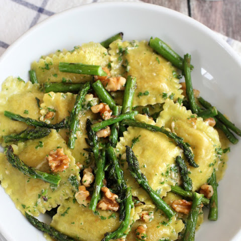 white wine butter sauce and asparagus tips recipes ravioli with white ...
