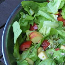 Apple and Sunflower Seed Salad