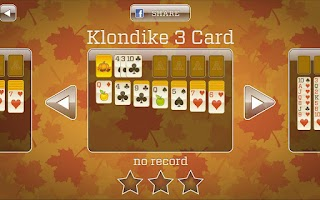 Screenshot of Fall Solitaire & freecell