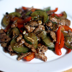 Dinner Tonight: Helen Chen's Pork and Cucumber Stir Fry