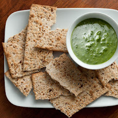 Watercress-Walnut Dip