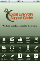 Screenshot of Expat Everyday Support Center