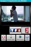 Screenshot of Bouygues TV (non officiel)