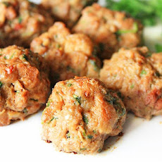 Chicken Liver and Pork Meatballs