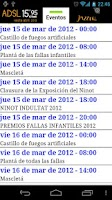 Screenshot of Fallas Valencia 2013
