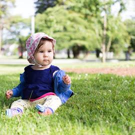 Sabrina in the park by Jordan Crick - Babies & Children Babies ( canon, sigma 18-35mm, sabrina crick, canada, vancouver, lens, bc, people )