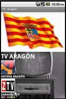 Screenshot of TV Aragón