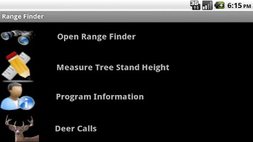 Screenshot of Deer Range Finder