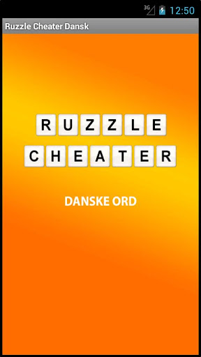 【免費解謎App】Ruzzle Cheater - Danske Ord-APP點子