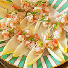 Shrimp Salad Spoons