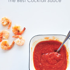 The Best Cocktail Sauce Ever.