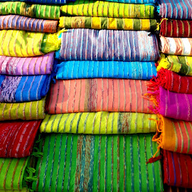 Colourful cloths !!! by Abhijit Palit - Artistic Objects Clothing & Accessories