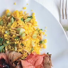 Saffron-Scented Couscous with Pine Nuts