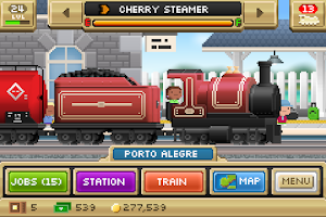 Screenshot of Pocket Trains
