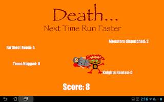 Screenshot of Roguelike Runner
