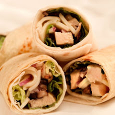 Grilled Chicken Caesar Wraps