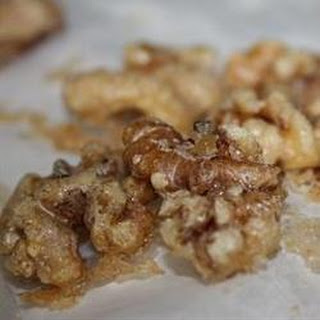 Sugar Glazed Walnuts