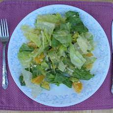 Nat's Romaine, Oranges and Avocado Salad