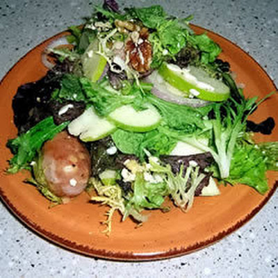 Apple And Sausage Salad