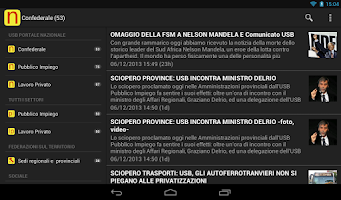 Screenshot of Unione Sindacale di Base - USB