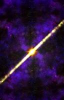 Screenshot of Morphing Galaxy Visualizer
