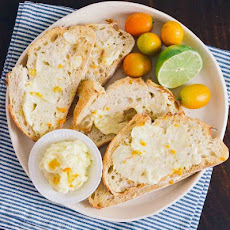 Inspired Toast with Sweet Citrus Butter