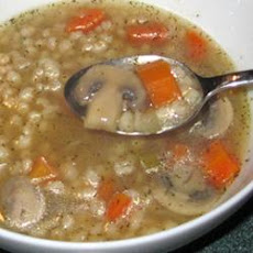 Dilled Vegetable Barley Soup