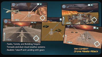 Screenshot of Air-Combat Drone Simulator 3D