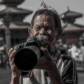 Grandfa by Dave Gurung - People Portraits of Men ( travel, potraits, nepal,  )