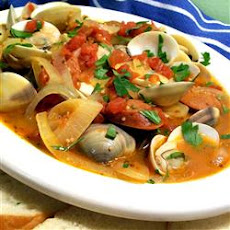 Portuguese Steamed Clams