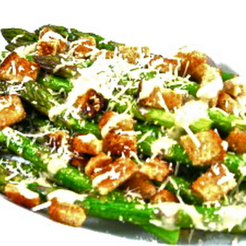 Caesar Asparagus, Low Calorie, Big on Deliciousness
