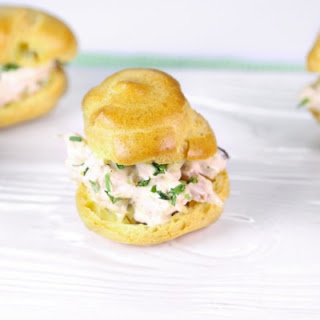 Baby Chicken Salad Puffs by Clinton Kelly
