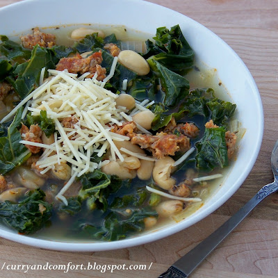 Kale, White Bean and Sausage Soup