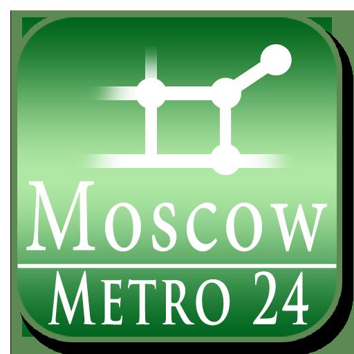 Moscow (Metro 24) 旅遊 App LOGO-APP試玩