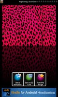 Screenshot of Leopard Print Wallpaper