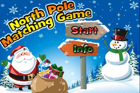 North Pole Matching Game